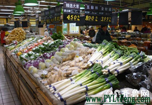 济南大葱价格猛涨最贵4.5元